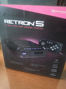 Hyperkin's RetroN 5 in its posh packaging.