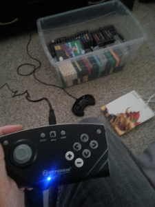 The RetroN 5's shitty controller wasn't as shitty as expected. It's still pretty shitty though.